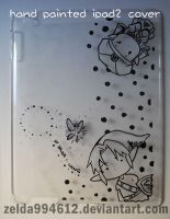 Zelda x Link on ipad 2 case by zeldacw