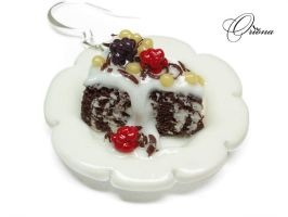 Earrings 'Tea' 2 by OrionaJewelry