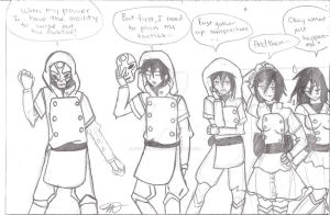 Legend of Korra request by Typhoon-Manga