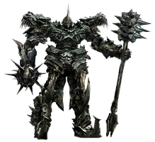 Transfomers Age of Extinction Grimlock Robot Mode by TFPrime1114
