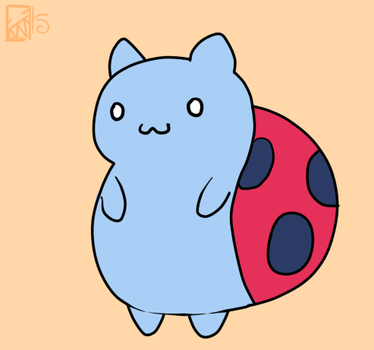 Catbug animation by Kinla