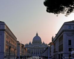 St Peter's basilica by agelisgeo