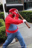 Ninja Mario Cosplay by SuperSonicHero10