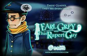 Earl Grey and This Rupert Guy Promo Poster by altonova