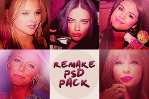 Remake psd pack by LoveSpeakNowEditions