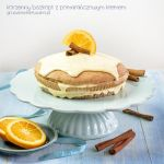 gingerbread spice sponge cake with orange frosting by Pokakulka