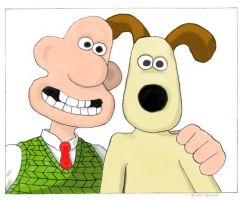 Wallace And Gromit by hoolai