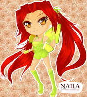 Naila Chibi Magic by Wonderclubstock