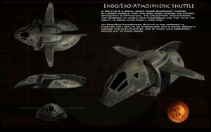 Endo/Exo Atmospheric Shuttle ortho by unusualsuspex