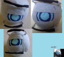 Wheatley Plushie by Kai-ni
