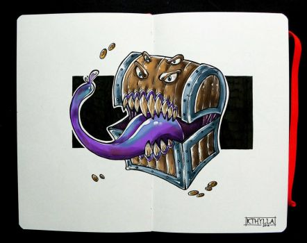 Moleskine: Mimic by kthylla