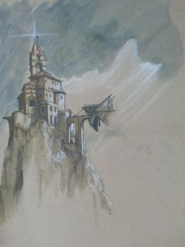 Mountains Outpost, Ventaria, Arc by FortuneandGlory