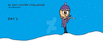 31 Day Winter Challenge - Day 1 by Cupcake-Angels