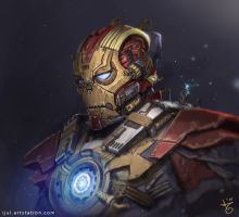 steampunk ironman by ijul