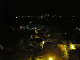 Skyline of Lesvos by Night-traveller