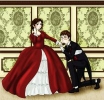 Victorian Cody and I by NevynS