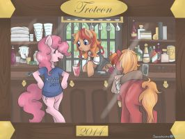 Trotcon 2014 Bar Menu by SorenBrian