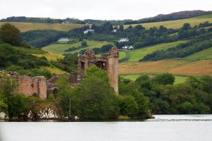 Urquhart Castle 2, Loch Ness, Scotland by wildplaces