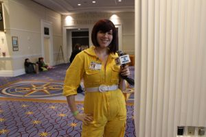 MAGFest 2013 - April O'neil by VideoGameStupid