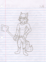 Sly Cooper by Divine-Marshal