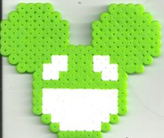 Dead Mau3e Green by Ravenfox-Beadsprites