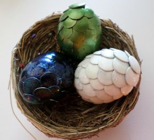 Nest Of Mini Dragons - Customizable! by Nephilims-FC-Shop