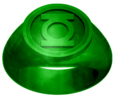 Green Lantern Ring - PLEASE COMMENT!! by KalEl7