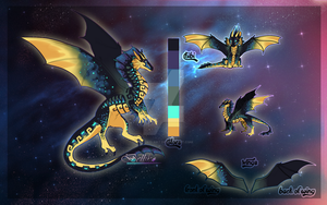 Aztec Dragon/Auction//CLOSED by Belliko-art