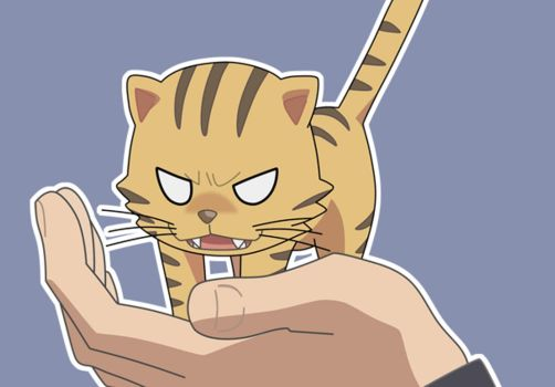 Toradora Palm Top Tiger GIF by Coillix