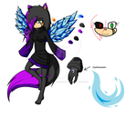 .:Kigami The Cat Reference:. by AriaKnightTheHedgeho