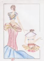 roupa book banca 3 by linimoon
