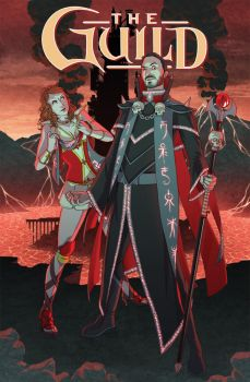 The Guild - Fawkes One-Shot Cover by paulduffield