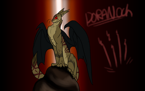 Feral Hearts Dragon - Doranoch by ThatAlbinoThing