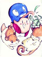 +Kirby and his dreamland pals+ by KirbySuperStar96