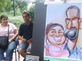 couple caricature III by marcocano