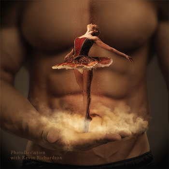 Ballerina and the Genie by PhotoDeviation