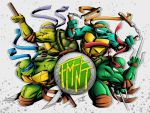 Teenage Mutant Ninja Turtles Color by ajithm