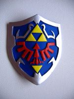 Hylian Shield by Meeellla