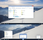 Windows10 Build 9901 Theme Windows 8.1 by cu88