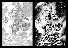 Thor pencils by Javier Jordan Sola by TheInkPages