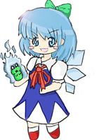 Cirno Keychain by Siyome
