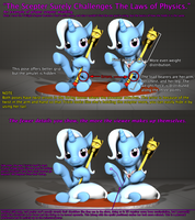 The Scepter Surely Challenges The Laws of Physics. by QuilloManar