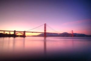 Golden bridge by alvintjipta