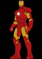 Ironman Stencil by Asher46