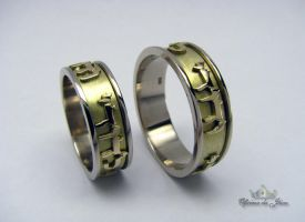 Gold Wedding Rings by raulsouza