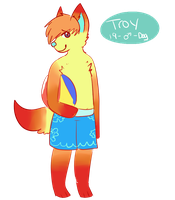 Troy anthro by tocame
