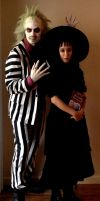 BeetleJuice and Lydia by xD00Rx