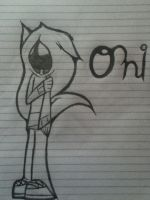 .:Sketch trade:. Oni by MotionlessGamer