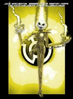 Jack Skellington of Fear by GeekTruth64