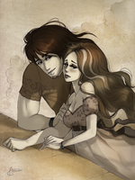 Callum and Delaney by Aomori by Ban-Sidhe